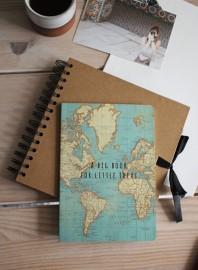 Cuaderno mapamundi