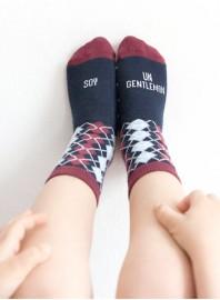 """mini Calcetines """"Soy un Gentleman"""""""