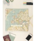 Libro de firmas mapa mundi