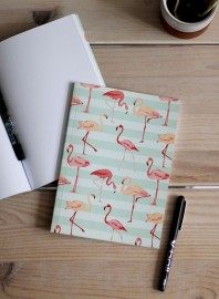 Libreta Pink Flamingos