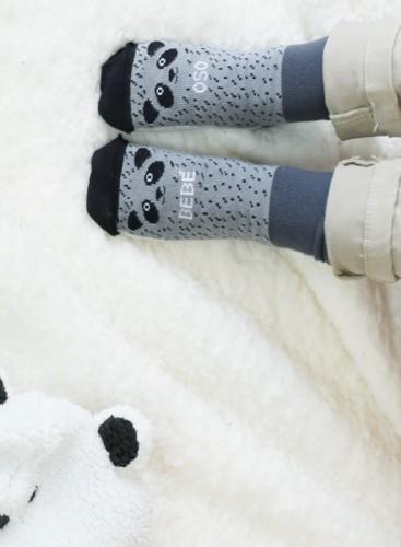 Calcetines bebé oso