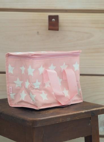Bolsa merienda térmica estrellas rosa