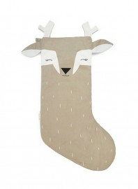 Calcetín Navidad Sleepy Deer Piedra
