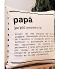 Funda de cojín papá definición