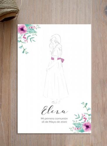 Recordatorio Floral
