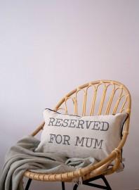 Funda de cojín Reserved for mum