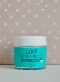 Polvos para embossing Izink turquesa