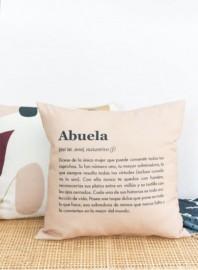 Funda de cojín Abuela definición