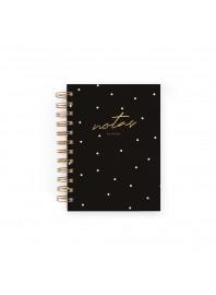 Cuaderno Charuca Negro Mini