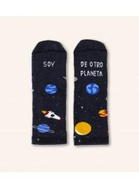"Calcetines Mini ""Soy De Otro Planeta"""