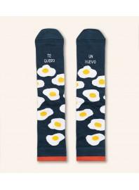"""Calcetines """"Te quiero un huevo"""""""