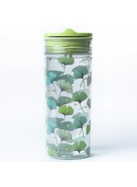 Botella Slide Cup Crystal Verde