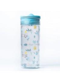 Botella Slide Cup Crystal Azul