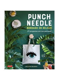 Libro Punch Needle Bordado en Relieve