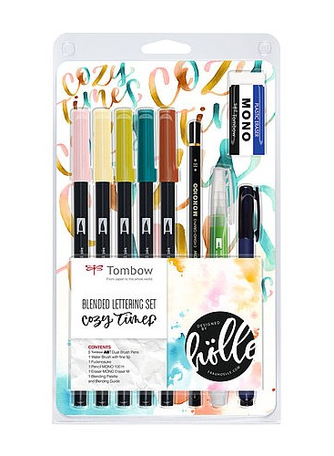 Tombow Set Blended Lettering Cozy Times