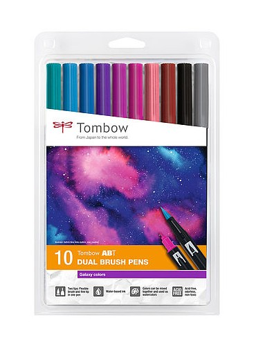 Tombow Dual Brush Galaxy Colors