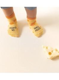 "Calcetines Mini ""Estoy como un queso"" UO*"