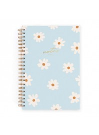 Cuaderno Charuca Floral Azul A4