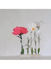 20 de Marzo Taller Flores en Papel