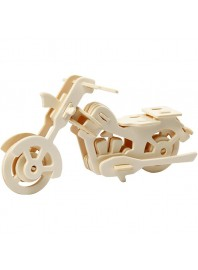 Kit Construcción 3D Moto