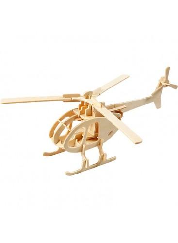 Kit Construcción 3D Helicóptero