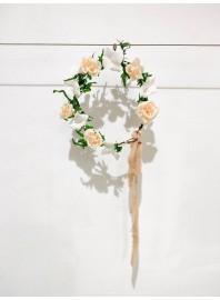 10 de Abril Taller Corona de Flores en Papel
