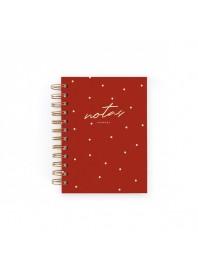 Cuaderno Charuca Carmín Mini