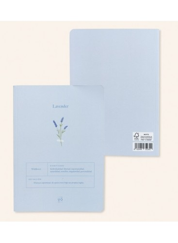 Libreta Lavender