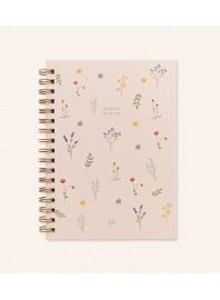 """Cuaderno """"En la flor de la vida"""""""
