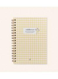 "Cuaderno ""Wildflowers"""
