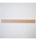 "Regla métalica 30cm (12"")"
