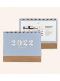 Calendario mesa 2022 Silvestre UO*