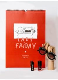 Calendario Lady Friday 22 Lucía Be